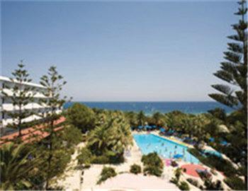 Blue Horizon Palm Beach Hotel Εξωτερική Ρόδος