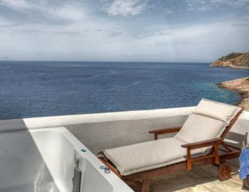 Delfini Apartments Superior Δίκλινο θέα Καμάρες