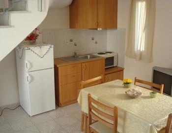 Kea Holidays Κουζίνα, Τραπεζαρία Κορησσία