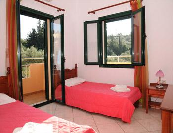 Villas Almyrida ''Ιφιγένεια'' Κρεβατοκάμαρα Αλμυρίδα