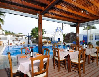 Hotel Village Mathios Εστιατόριο Ακρωτήρι