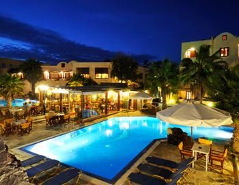 Hotel Village Mathios Θέα Νυχτερινή Ακρωτήρι