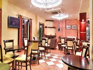 San Nectarios Hotel Καφέ Πάργα