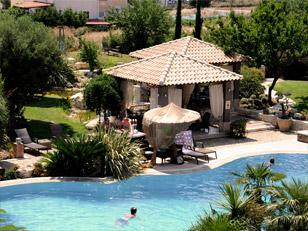 Achtis Hotel Πισίνα Άφυτος