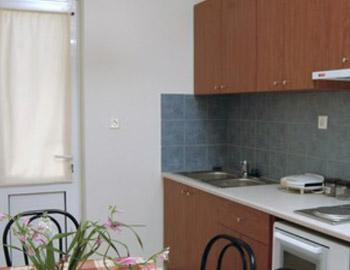 Marianna Apartments Κουζίνα Αλμυρίδα