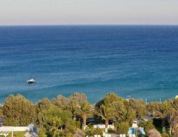 Aphrodite Beach Hotel Θέα Καλαφάτη