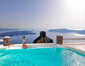 Tholos Luxury Resort Hotel Πισίνα Ημεροβίγλι