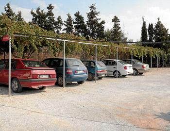 Michalis Villas Χώρος Στάθμευσης Καλαθάς