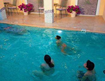 Villa Thomais Luxury Living-Aqua Gym & Spa Πισίνα Επίσκοπος Νικιάνα