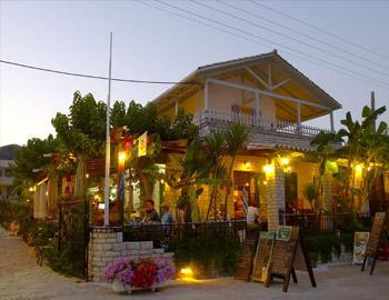 Rouda Bay Hotel Εστιατόριο Μικρός Γιαλός