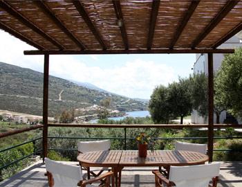 Κτήμα Κυπρί Θέα από το μπαλκόνι Κυπρί